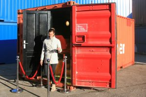 Speciale zeecontainers