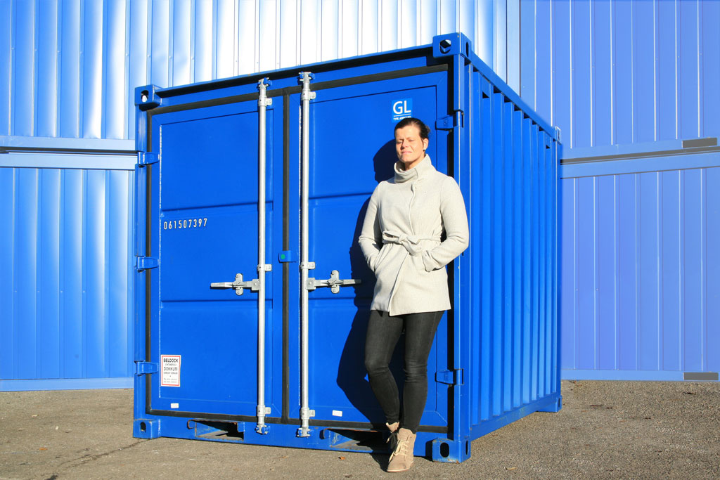 Opslagcontainer 8 ft