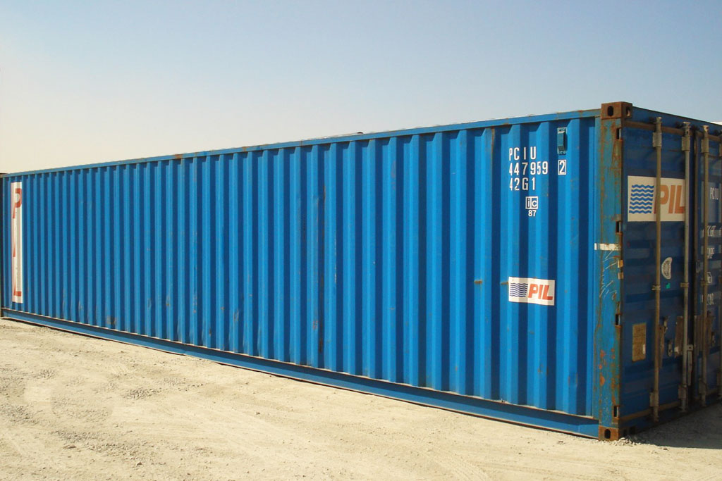 Zeecontainer 40 ft gebruikt